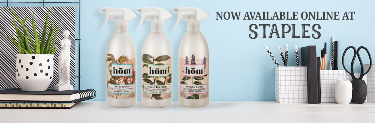 Hom Products Now Available Online at Staples